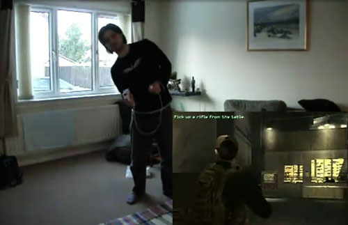 Geek hacks Kinect to work with Wii controllers for Call of Duty action
