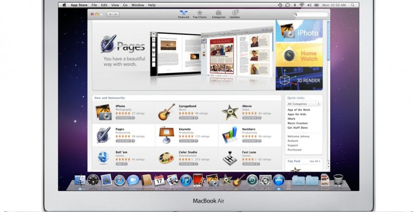 Mac App Store tops 1m downloads in first day
