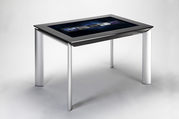 Microsoft Surface SUR40 multitouch table slims bulk & price [Video]