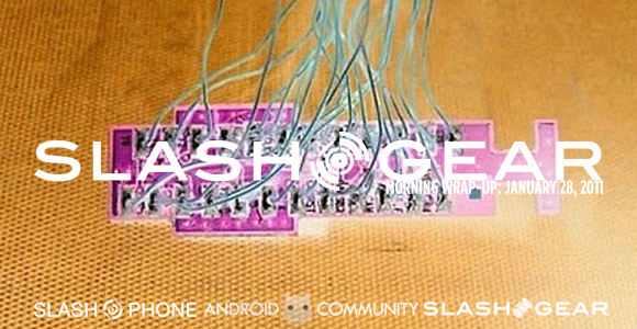 SlashGear Morning Wrap-Up: January 28 2011