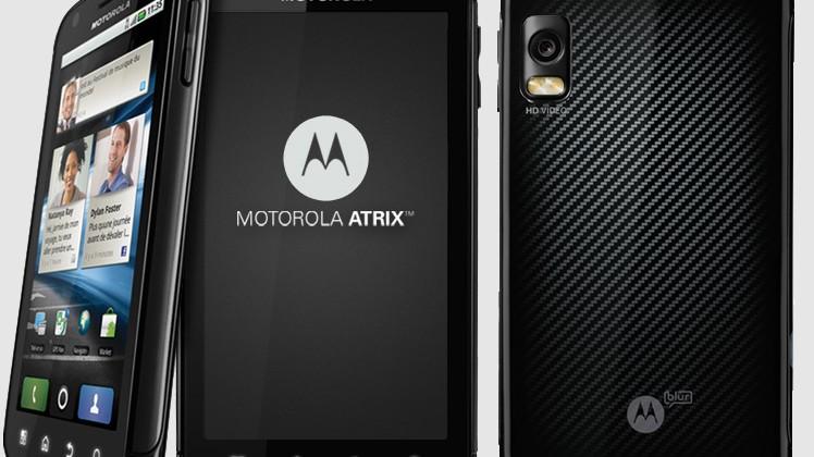 Bell grab Motorola ATRIX 4G too