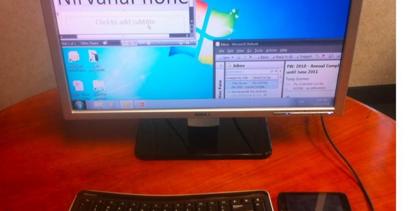 Motorola ATRIX 4G replaces notebook/PC with Citrix NirvanaPhone tech [Video]