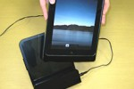 iPad wireless charger system just as fast as AC adapter