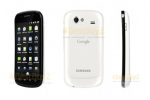 Google Nexus S in white spied