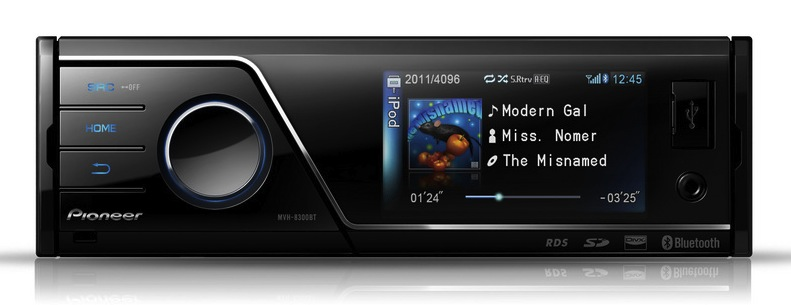 Pioneer MVH-8300BT head unit packs iPhone support, App Mode & Bluetooth
