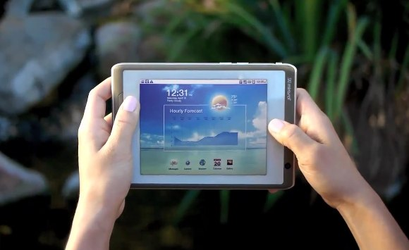 mirasol Android tablet video tease: Mockup or Pocketbook preview?
