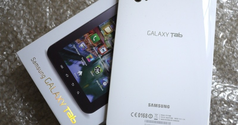 "Samsung backtracks on Galaxy Tab figures: customer sales ""quite small"" [Updated]"