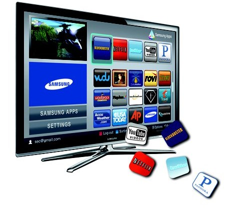How to add apps to samsung smart tv.