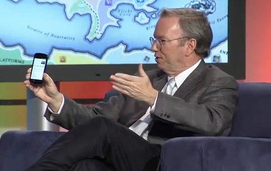 Eric Schmidt: Google pushing LTE, mobile money & cheap smartphones in 2011