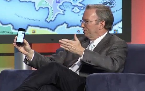 "Eric Schmidt ""wants to be a talk-show host"" claim insiders"