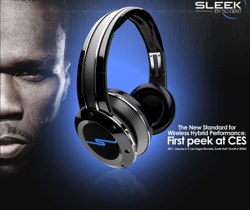 Rapper 50 Cent tweet about Sleek by 50 headphones causes a ruckus