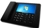 Speakal BTS8 puts Windows 7 in a desk phone