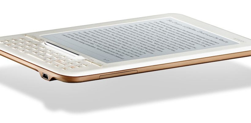 iriver Story HD boasts highest resolution 6-inch ereader screen