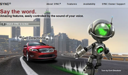Ford Sync in 3M vehicles on the road today