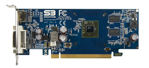 VIA unveils new eH1 video card for embedded devices