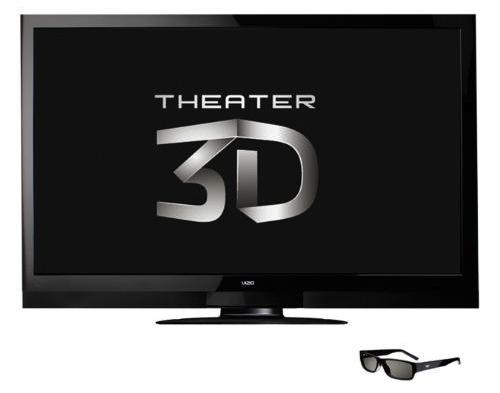 Vizio Theater 3D HDTVs detailed: 22″ to 71″ Smart TVs