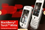 White BlackBerry Torch headed to UK as Vodafone exclusive