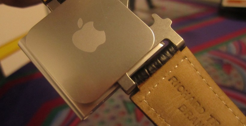 Leather iPod Nano Watch Band Opens Bottles, Too