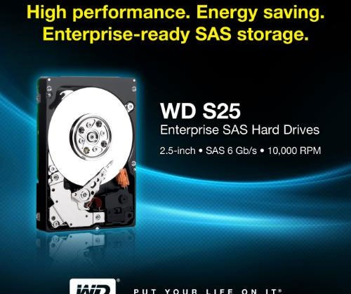 Western Digital adds new SAS HDDs for enterprise
