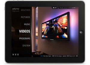 iPad and iPhone 4 get XBMC media center hack too [Video