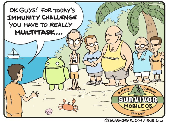 SG Comics Presents: Survivor Mobile OS