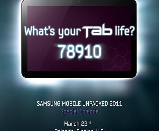 Samsung Galaxy Tab 8.9-Inch To Debut At CTIA
