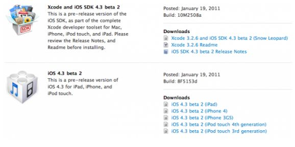 Apple To Launch iOS 4.3 on February 14?