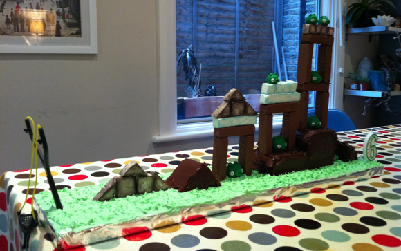 New Angry Birds Cake Takes Playing With Your Food To A New Level