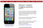 Verizon iPhone 4 Launches Tomorrow