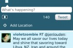Twitter For BlackBerry Updated With Geotagging And Push Mentions