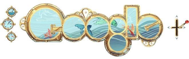 Google 20,000 Leagues Under the Sea doodle is best yet