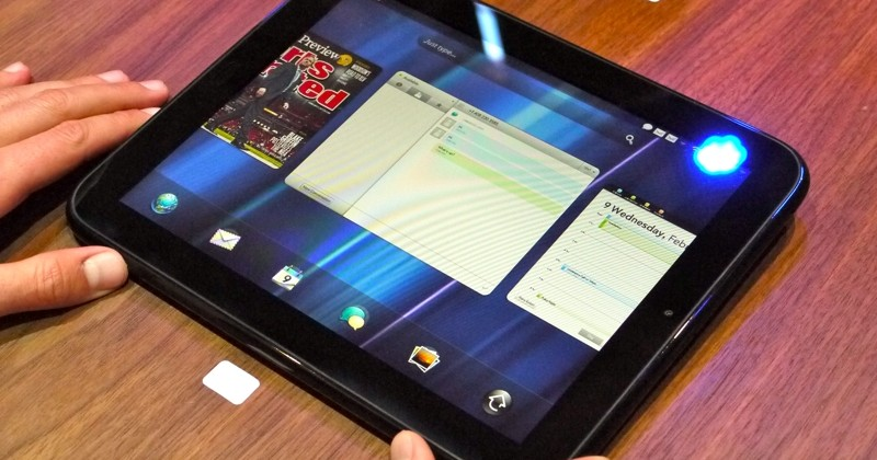 HP TouchPad tablet shipping April tip suppliers