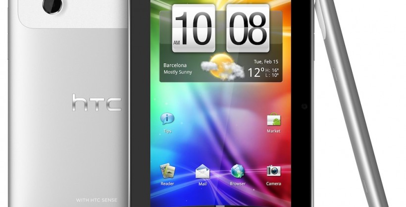 HTC Flyer tablet official