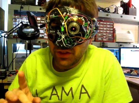 DIY cyborg costume gives you Borg eye [Video]