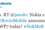 Rovio Takes on Nokia with an Angry Call to Arms