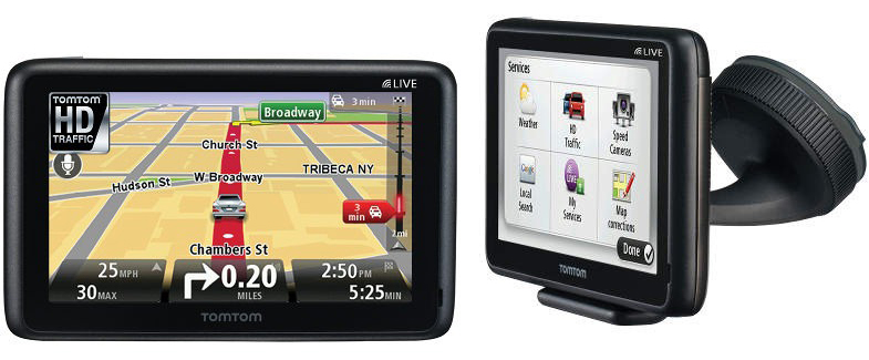 TomTom GO 2435 and GO 2535 PNDs quietly revealed
