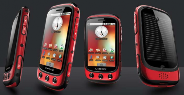 The Umeox Apollo Solar Powered Cell Phone – with Android