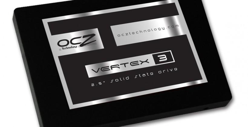 OCZ Launches Vertex 3 and Vertex 3 Pro SATA SSDs