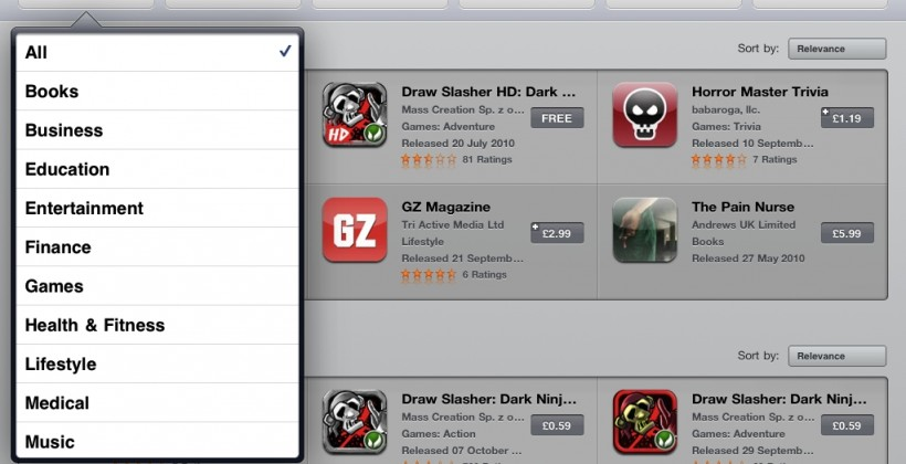 App Store filtering added as Apple boosts discovery options