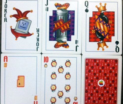 Official Apple Playing Cards Show Up on Ebay