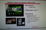 BlackBerry PlayBook 16GB for $499 at Office Depot