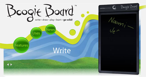 Boogie Board LCD writing tablet heads to Europe