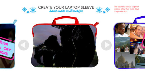 Caseable lets you create your own laptop sleeve