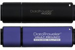 Kingston unveils new secure DataTraveler 4000 and DataTraveler Vault Privacy Edition flash drives