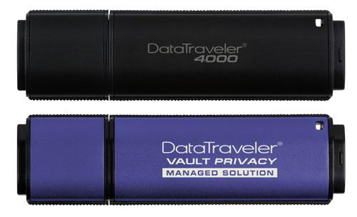 Kingston unveils new secure DataTraveler 4000 and DataTraveler Vault Privacy Edition flash drives