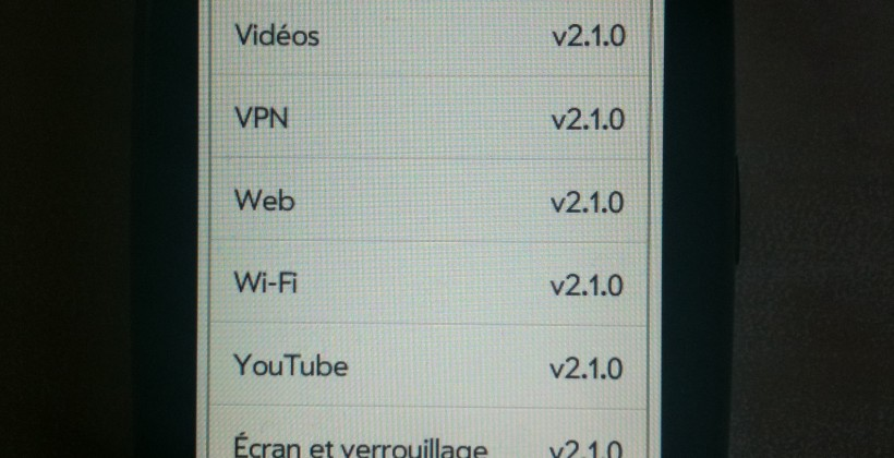 Palm Pre Plus webOS 2.1 update already up and running on French phone