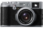 Fujifilm FinePix X100 digital camera has world's first hybrid viewfinder