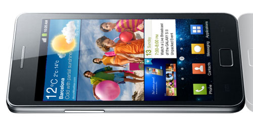 Samsung Galaxy S II ships in March