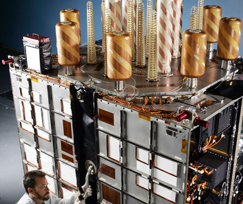 Lockheed Martin GPS satellite has been in orbit and working for over a decade