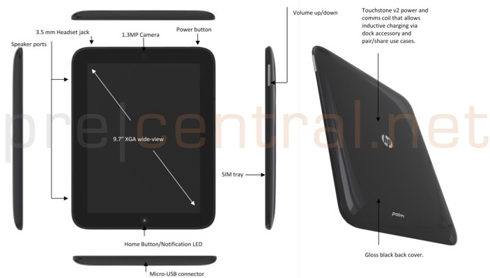 HP TouchPad confirmed: HP Topaz tablet gets early outing